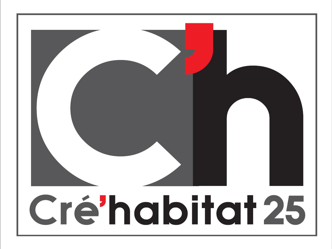 Logo Cre'habitat 25